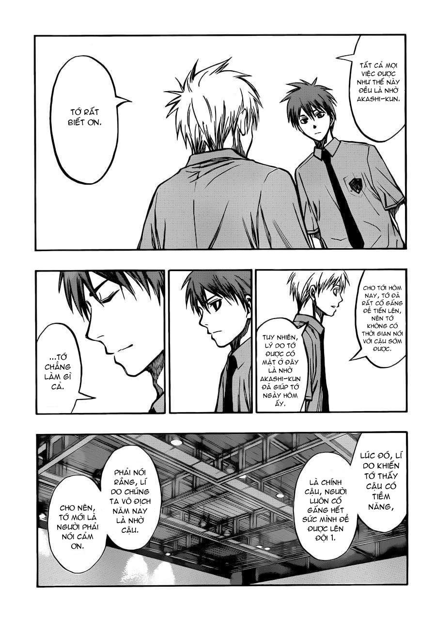 Kuroko No Basket chap 219 trang 7