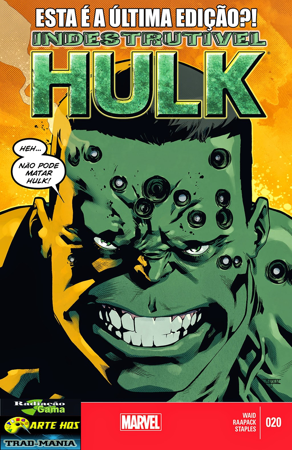 Nova Marvel! O Indestrutível Hulk #20