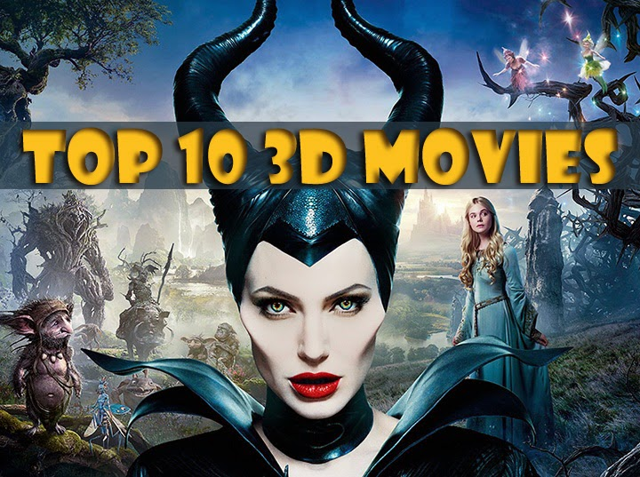 Top 10 3D Movies in 2014 on Cinema Screens