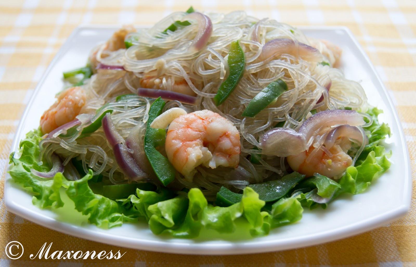 рецепты приготовления фунчозы с морепродуктами