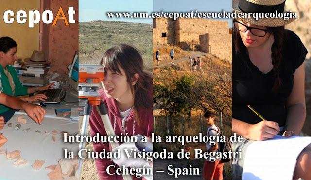 Ciudad Visigoda de Begastri – Cehegín – España (23 de julio al 6 de agosto 2017)