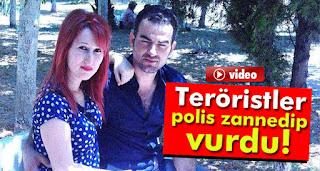 istanbulda Teröristlerin polis zannedip vurdukları şahıs öldü