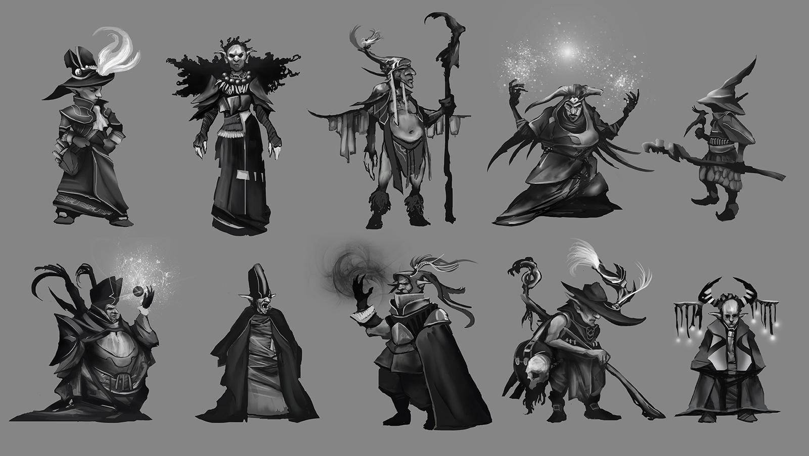 """[Horante] """" Mecha-shaman reloaded """" - Page 2 NicolasCamiade_Assignment01_Fantasy_GobelinSorceler"""