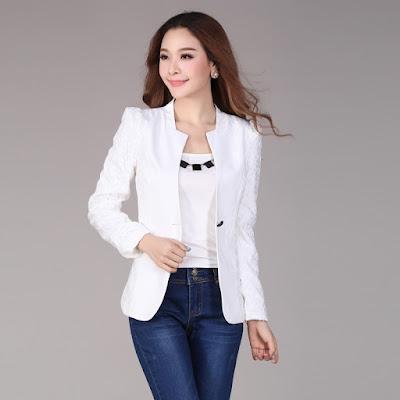 blazer plain