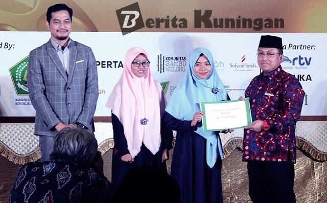 """Harumkan Kuningan, """"A Light"""" Raih 2nd Best Film Festival Film Santri 2017 Tingkat Nasional"""