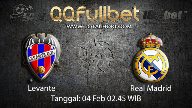 PREDIKSIBOLA - PREDIKSI TARUHAN LEVANTE VS REAL MADRID 4 FEBRUARY 2018 (SPAIN LA LIGA)