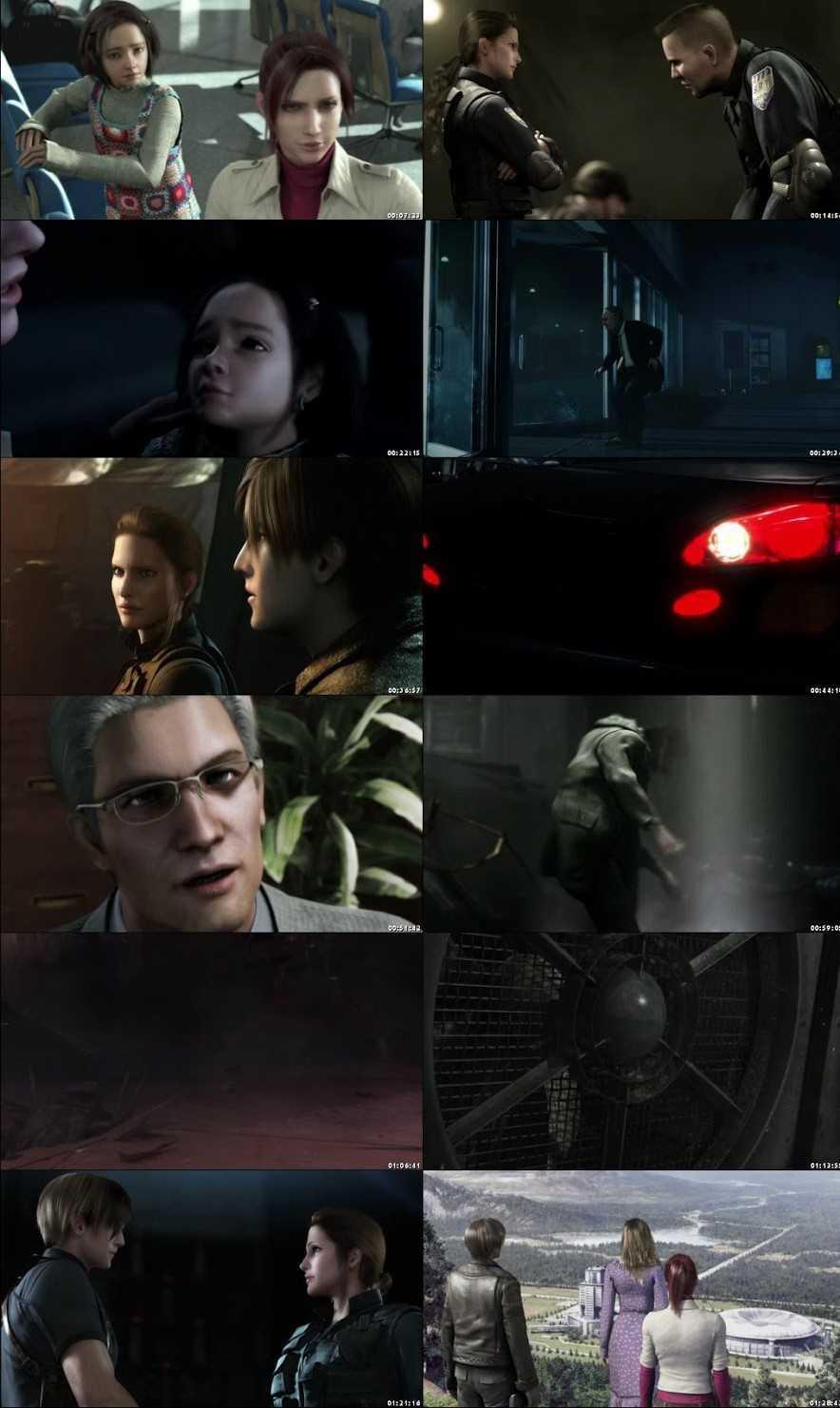Resident Evil: Degeneration 2008 Screenshot