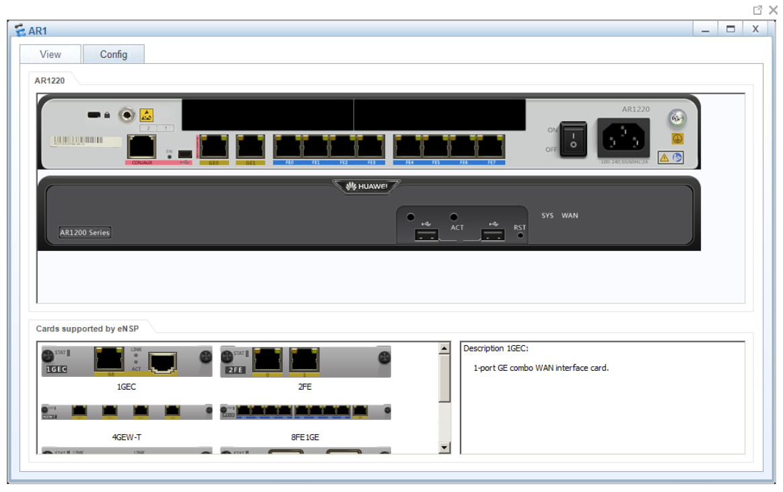 Overview on eNSP Emulator on Huawei