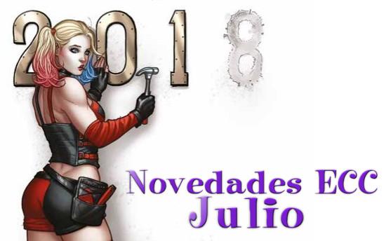 Novedades de ECC Ediciones de Julio 2018