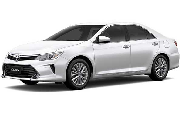New Toyota Camry - White Pearl Crystal Shine
