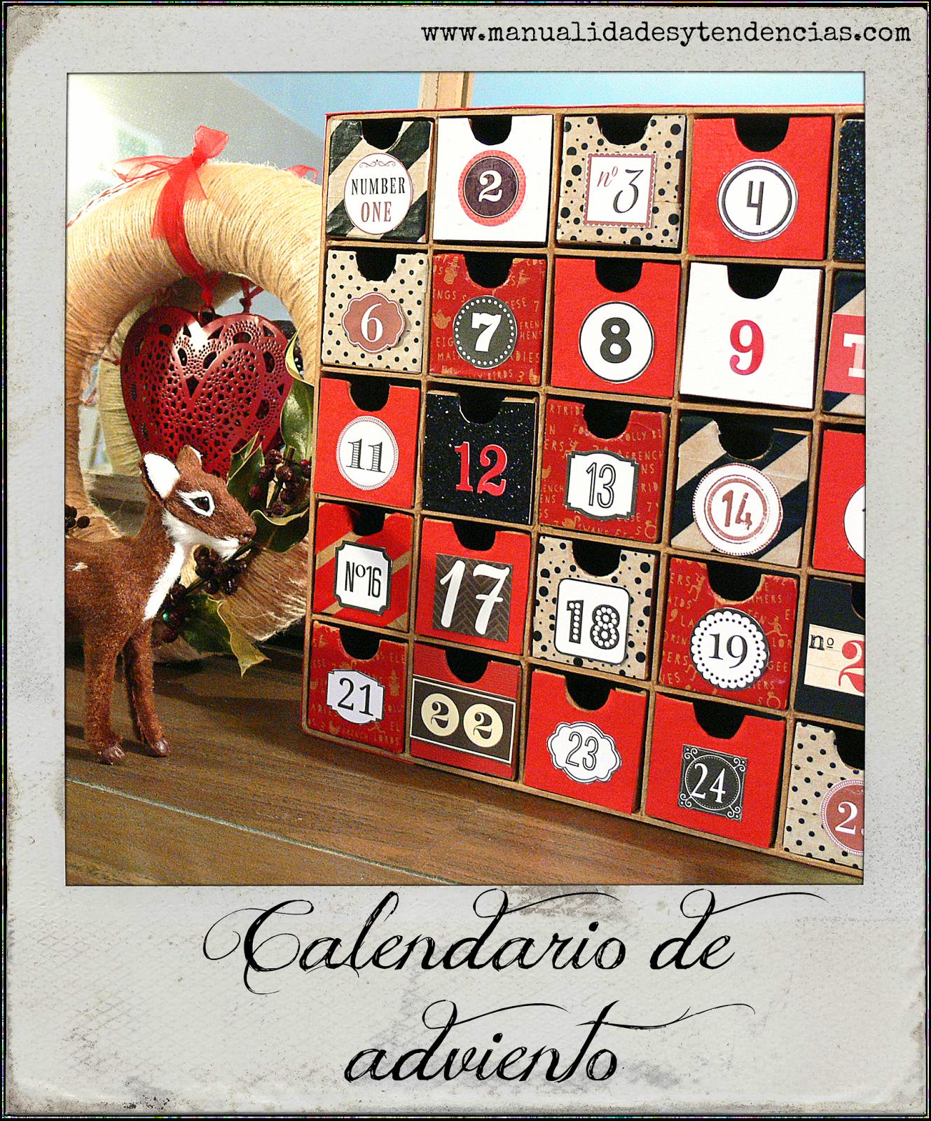 Calendario De Adviento De Papel Mache Paper Mache Advent Calendar - Calendario-de-adviento