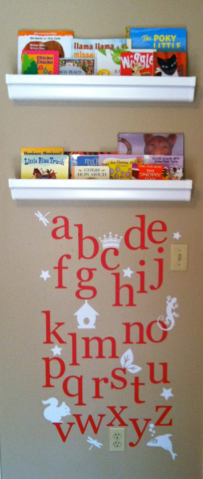 Mini Library for Baby Nursery
