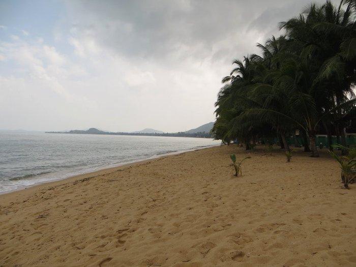 Пляж Маенам в декабре