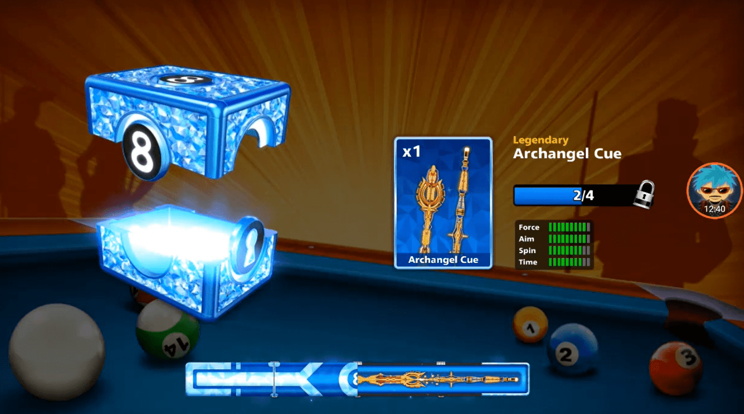 Legendary 8 ball pool cue