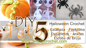 Decoraciones para Halloween a Crochet / 5 tutoriales