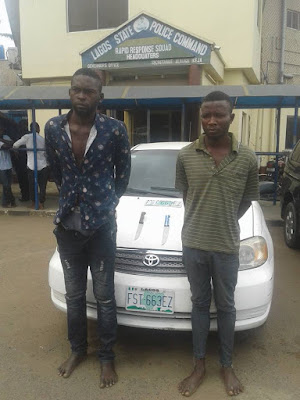Notorious Criminals Kill Lagos Taxify Driver, Sell His Car For N350k