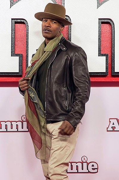 Jamie Foxx Photo call for the musical 'Annie' in London