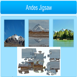 Andes Jigsaw Puzzle Game