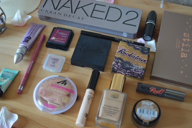 Make-up look featuring Urband Decay, Benefit, MAC, Estee Lauder