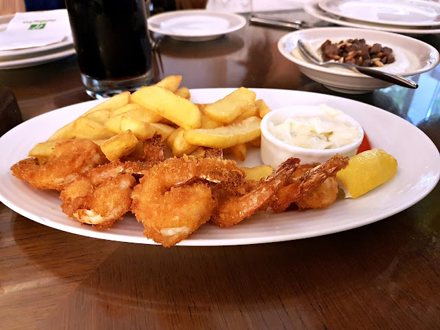 Breaded and Fried Shrimp at Ayam Zamam, Kuwait