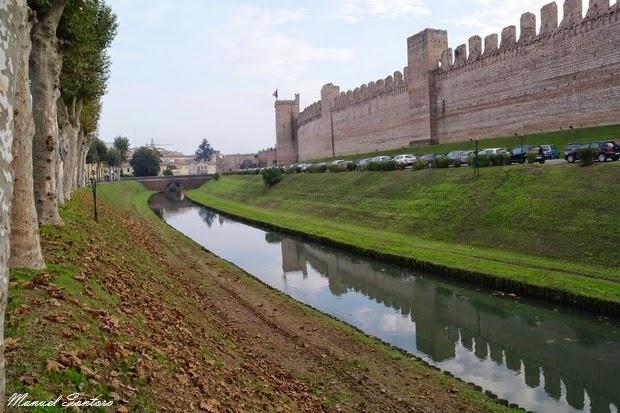 Cittadella, cinta muraria