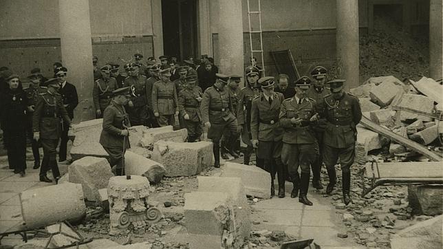 Himmler en el Alcázar de Toledo