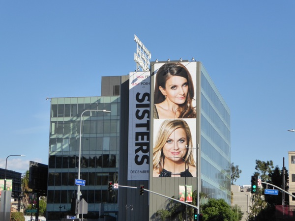 Giant Sisters movie billboard Hollywood