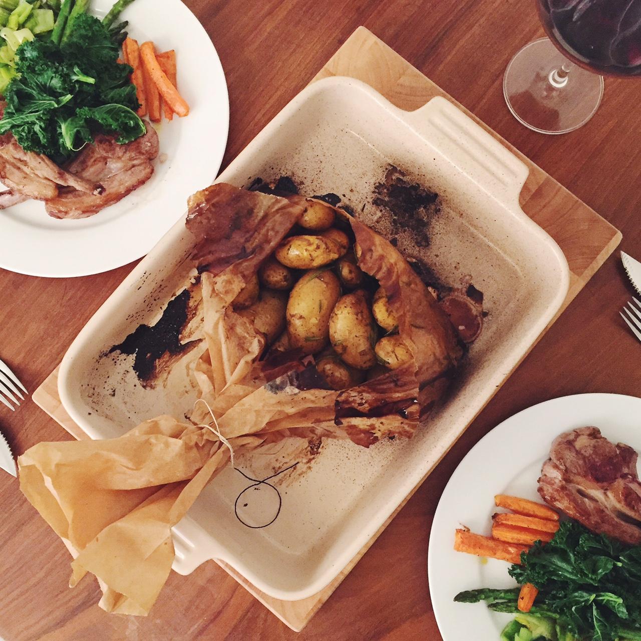 Jimmy Doherty's salt and vinegar potatoes recipe