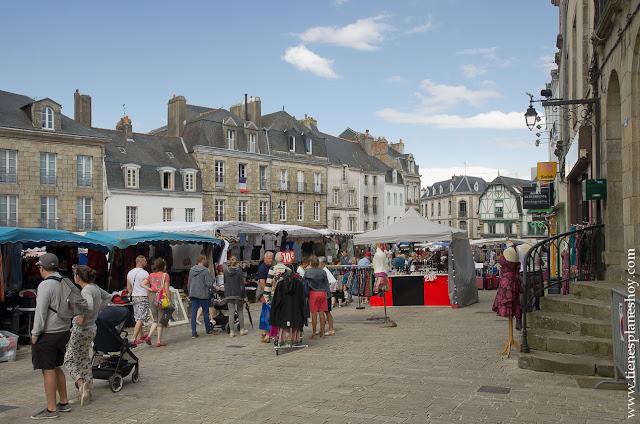 Auray viaje Bretaña Normandía Francia