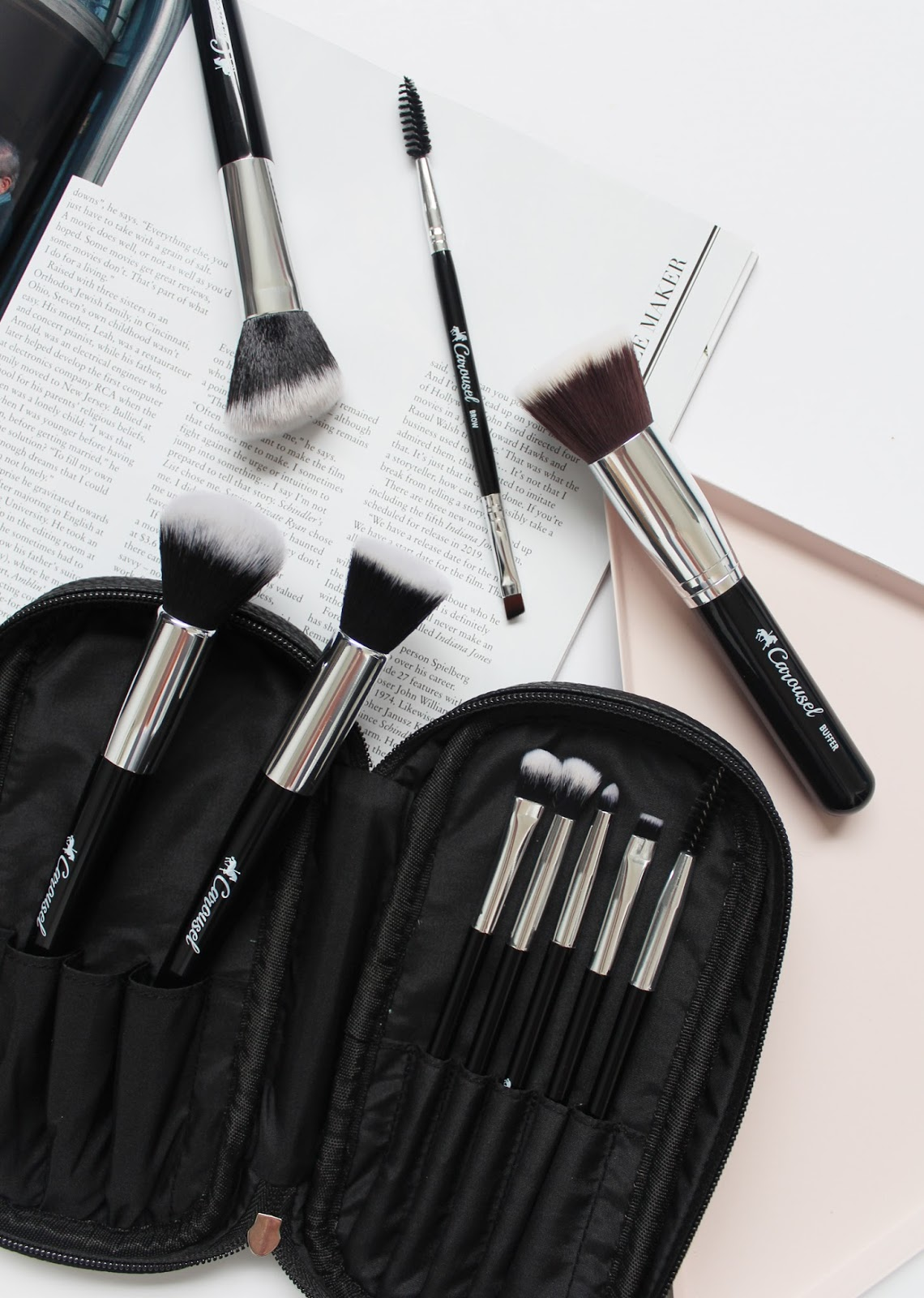 CAROUSEL COSMETICS | New Brush Set - CassandraMyee