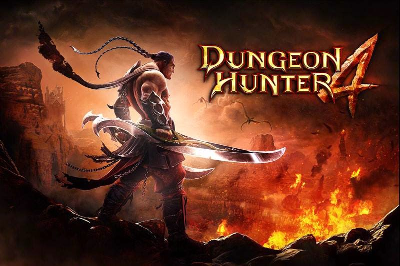 Dungeon Hunter 4 v1.8.0k Apk And Data