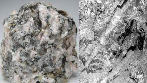 pegmatit adalah batuan beku dengan kristal besar