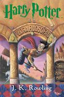 Capa livro Harry Potter e a Pedra Filosofal