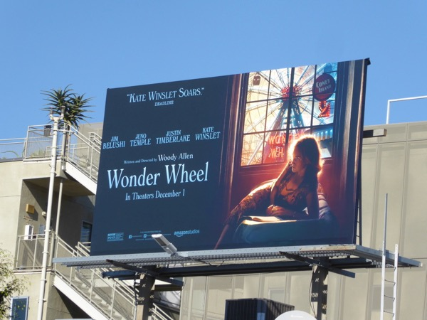 Wonder Wheel movie billboard