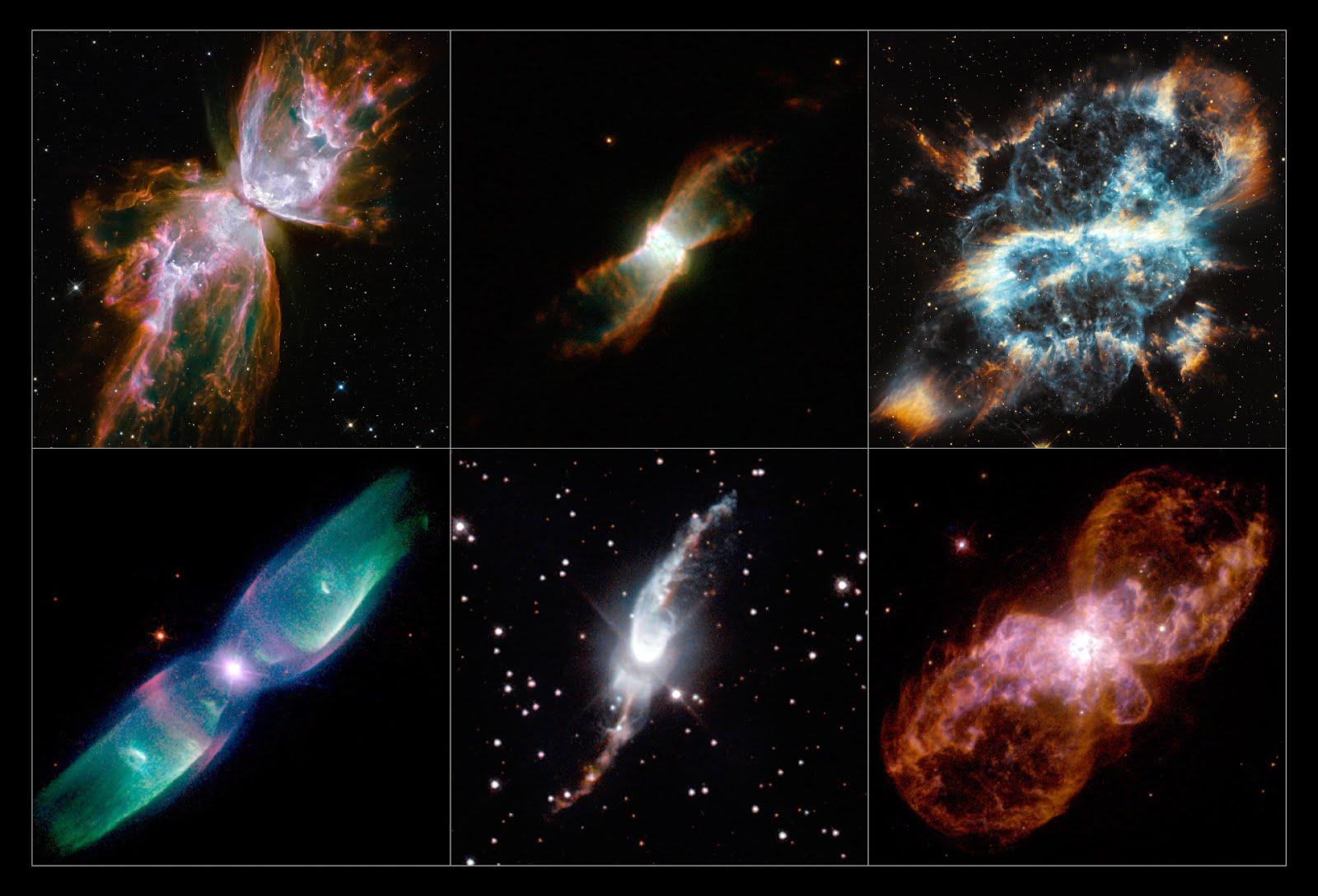 Lo strano allineamento delle nebulose bipolari