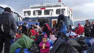 Στην Κρήτη 256 μετανάστες από τη Μυτιλήνη