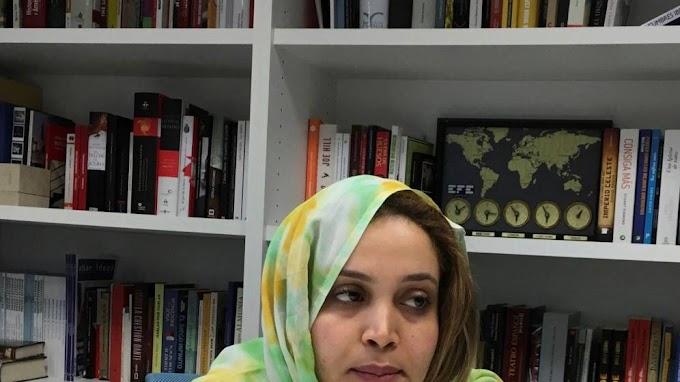 El régimen marroquí no quiere presencia internacional en el juicio contra la periodista saharaui Naziha Khalid.