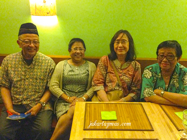 La vieja guardia de Indonesia en Barcelona