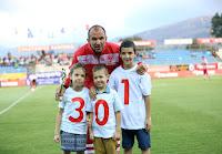 Για τις 301 συμμετοχές τιμήθηκε το Σάββατο ο Φανούρης Γουνδουλάκης