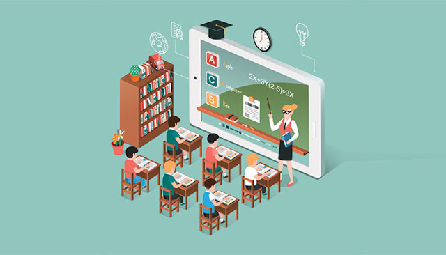 The Potential of Blended Learning for Steering Education