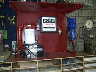 Fuel Rite Pompa Minyak Solar Elektrik dengan Flow Meter