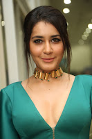 Rashi Khanna Hot Photo Shoot from Hyper Trailer launch HeyAndhra
