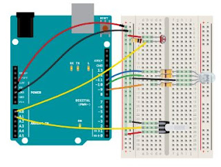 Cara Membuat Lampu Malam RGB Mengunakan Arduino