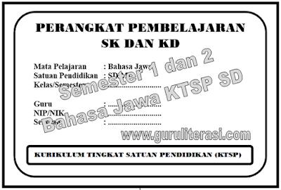 Perangkat Pembelajaran Bahasa Jawa SD KTSP Semester 1 dan 2