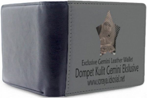 Gambar produk dompet kulit gemini asli ekslusive