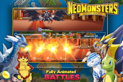 Neo Monsters Mod Apk v1.4.7 Update Terbaru Maret 2017 Gratis
