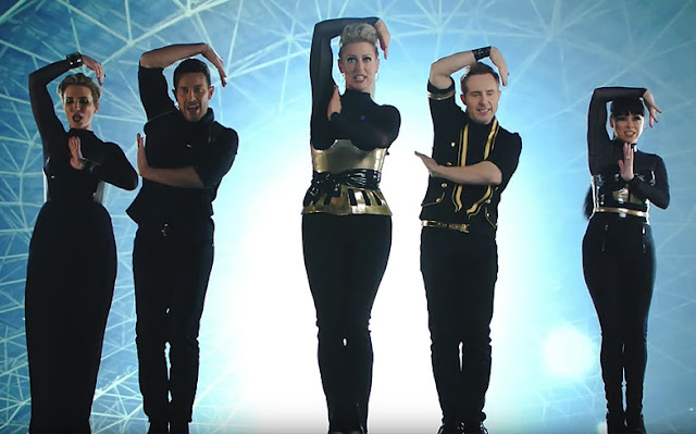 "Steps Premiere ""Scared Of The Dark"" Video"