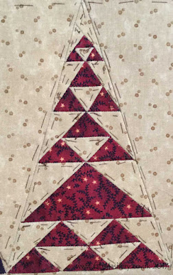 Dear Jane Quilt - Border Block BR2 Leigh's Wood