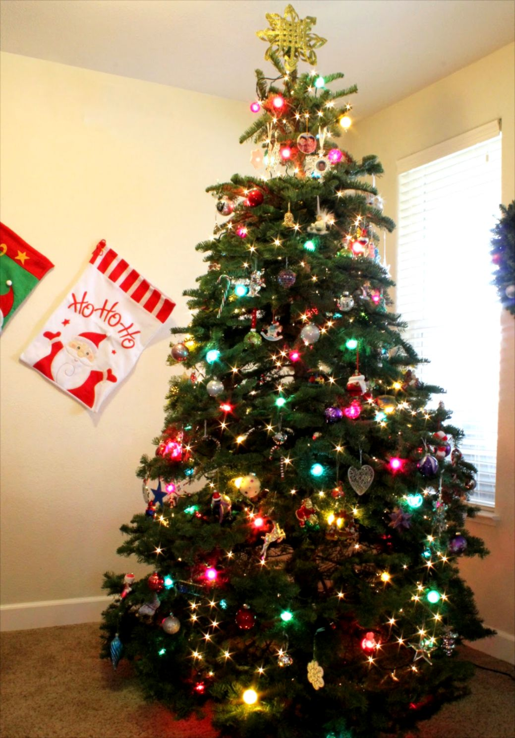 Decorating Adorable Christmas Tree Decoration Feature Colorful