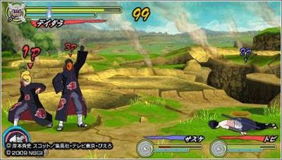 Naruto Shippuden: Ultimate Ninja Heroes 3 CSO ISO PPSSPP